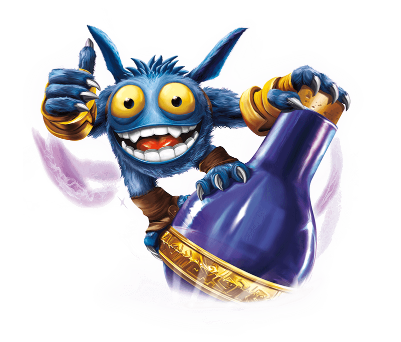 Skylanders Swap Force Super Gulp Pop Fizz Character Figure ...