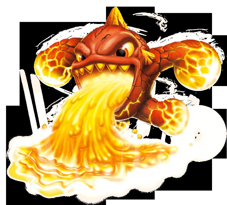 Skylanders Swap Force Hot Dog