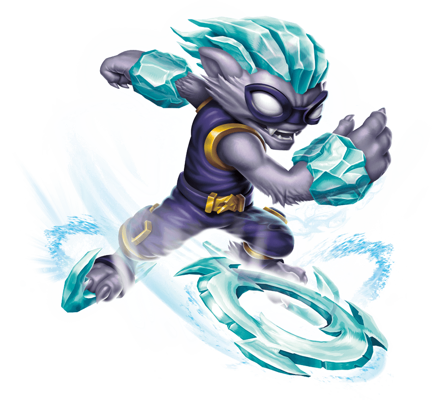 skylanders coloring pages freeze blade - photo#37