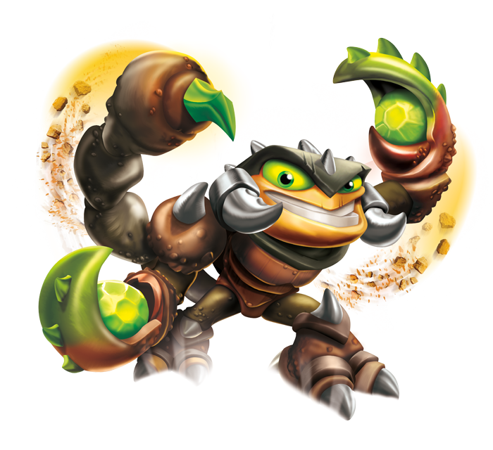 meet the skylanders scorp